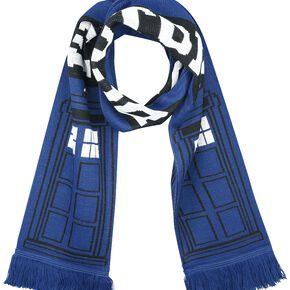 Doctor Who I'm The Doctor Écharpe noir/bleu/blanc