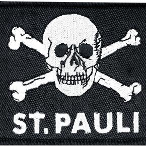 FC St. Pauli Skull Patch noir