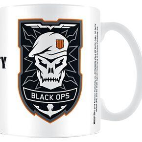 Call Of Duty Black Ops 4 - Logo Mug blanc