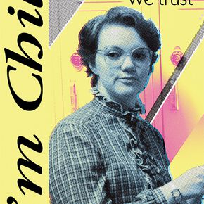 Stranger Things In Barb We Trust Poster multicolore