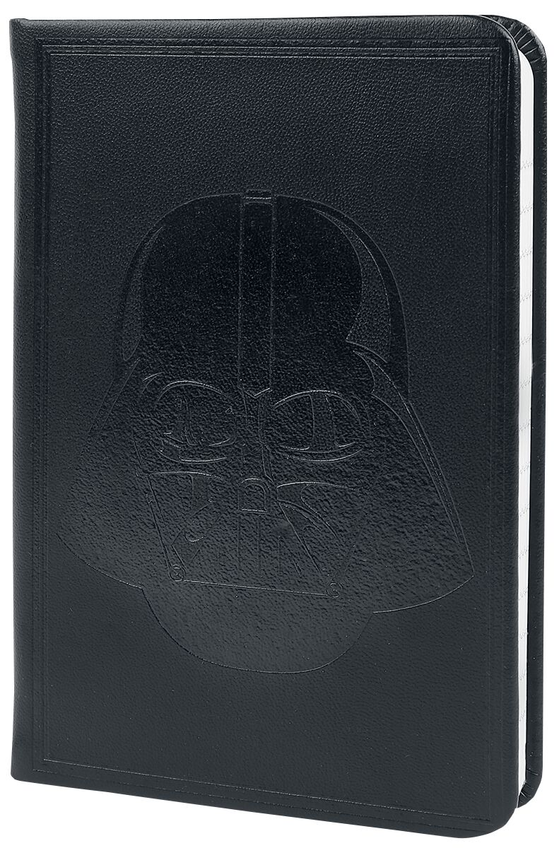 Image of   Star Wars Darth Vader - A6 premium lomme-notesbog Notesbog sort