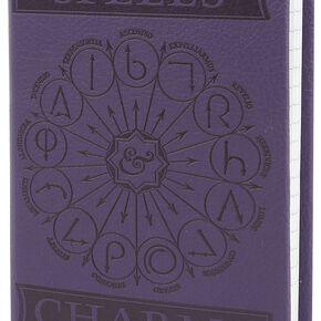 Harry Potter Spells & Charms - Carnet De Notes A6 Pocket Premium Cahier lilas