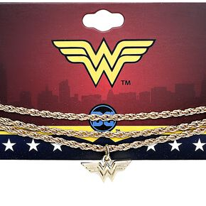 Wonder Woman Collier Wonder Woman Lasso Collier couleur or