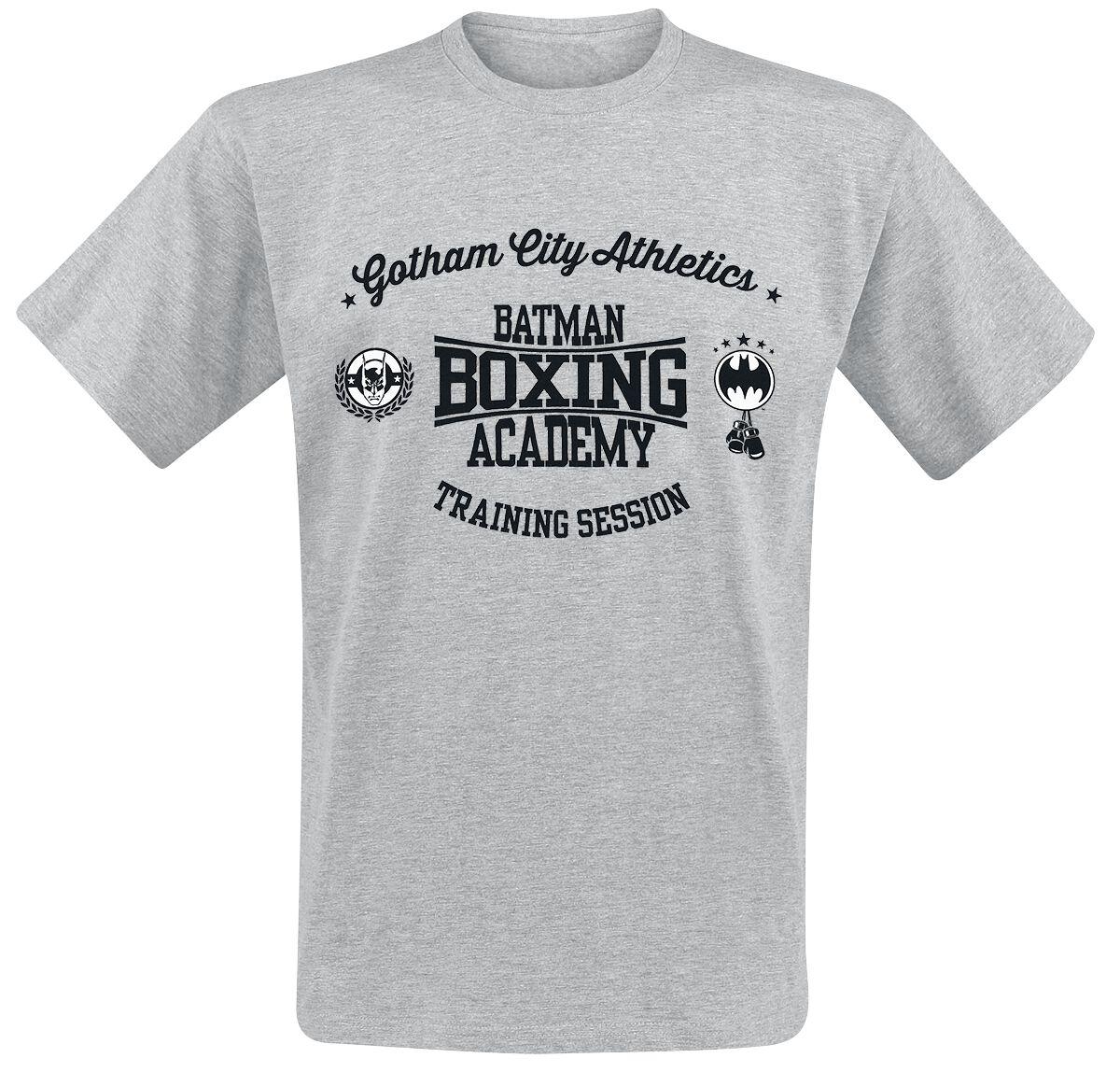 Image of   Batman Boxing Academy T-Shirt grålig
