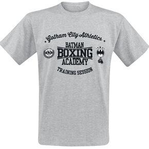 Batman Boxing Academy T-shirt gris chiné