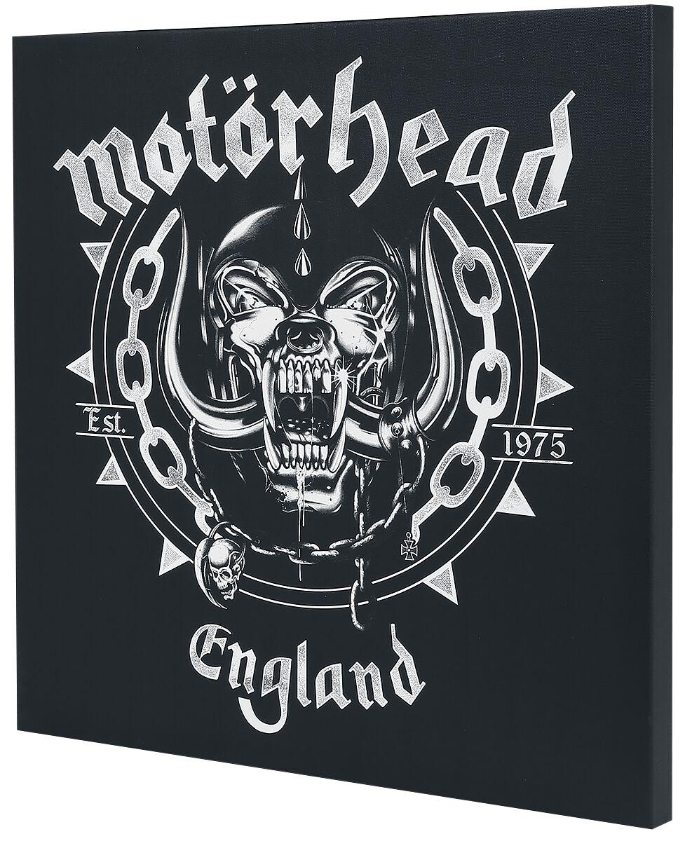 Image of   Motörhead England Canvas Print sort