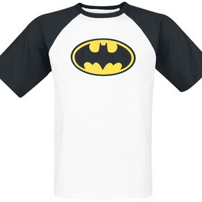Batman Logo T-shirt blanc/noir