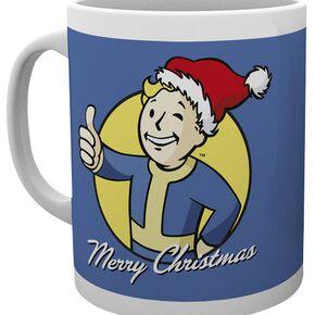 Fallout Merry Christmas Mug blanc