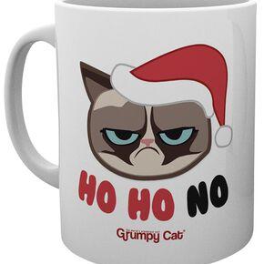 Grumpy Cat Ho Ho No Mug blanc