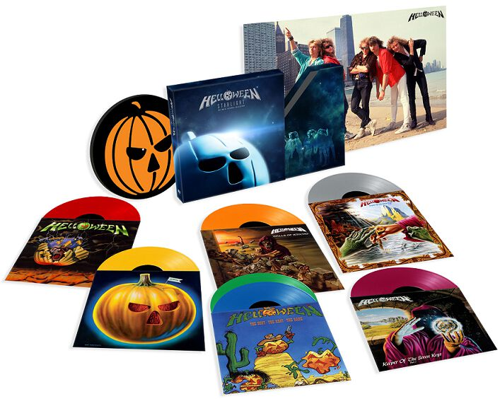 Image of Helloween Starlight - The Noise Records Collection 6-LP & 7 inch multicolor