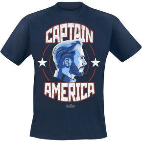 Captain America Avengers - Infinity War - Captain America T-shirt bleu