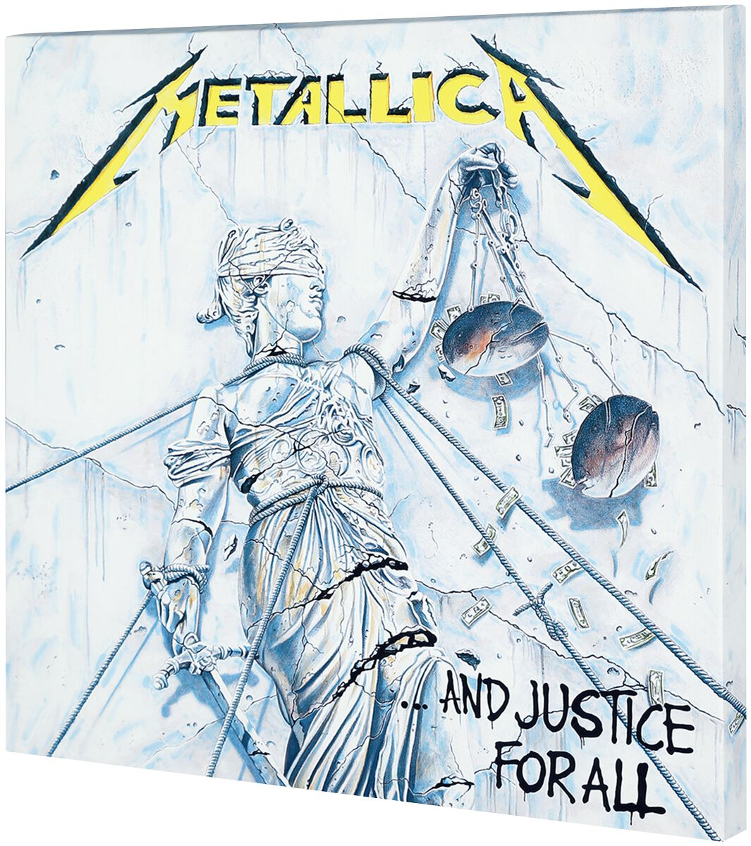 Image of   Metallica Justice For All Canvas Print multifarvet