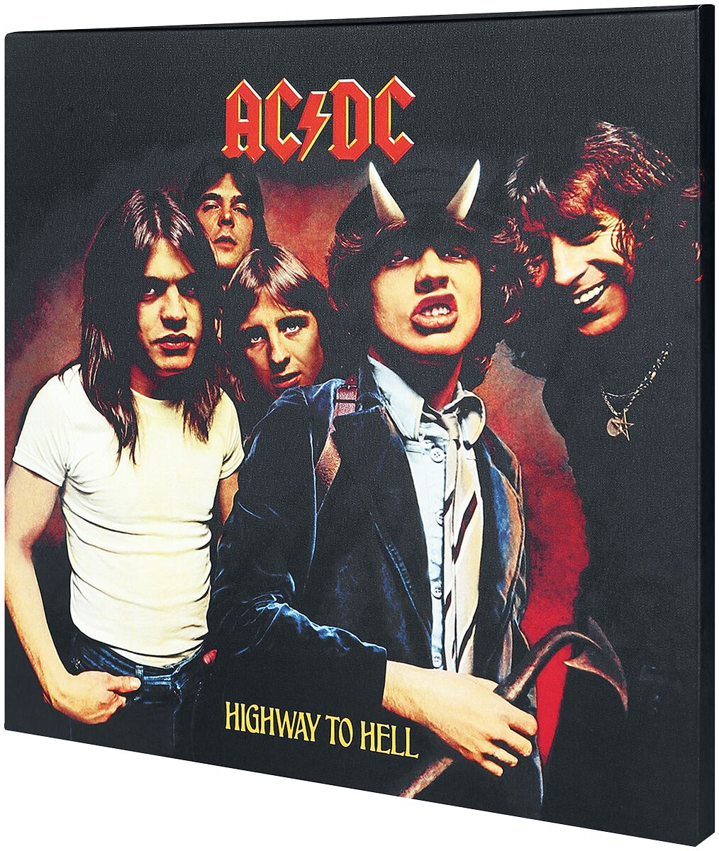 Image of   AC/DC Highway To Hell Canvas Print multifarvet
