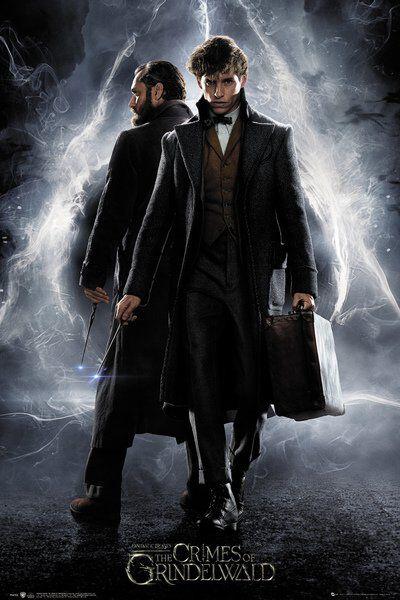 Image of   Fantastic Beasts Grindelwalds Verbrechen Plakat multifarvet