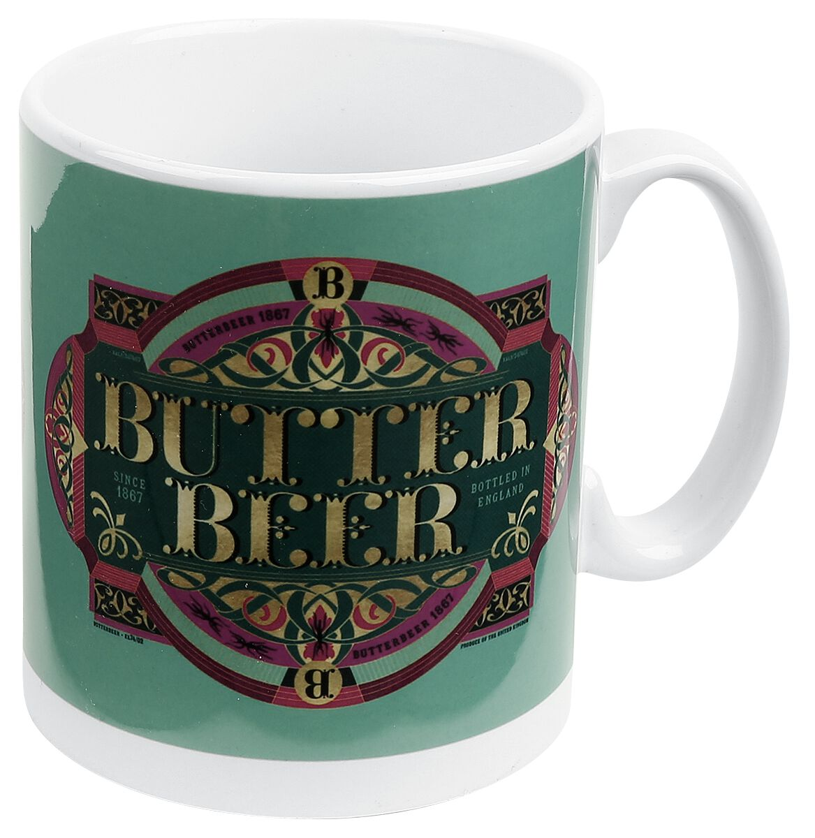 Image of   Fantastic Beasts Grindelwalds Verbrechen - Butter Beer Krus multifarvet