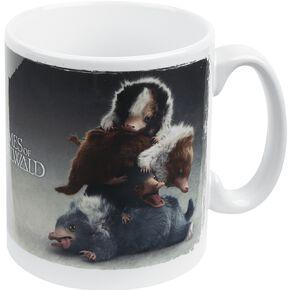 Les Animaux Fantastiques Grindelwalds Verbrechen - Nifflers Mug multicolore