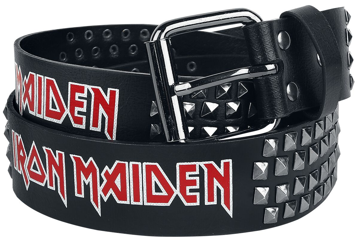 Image of   Iron Maiden Bælte sort