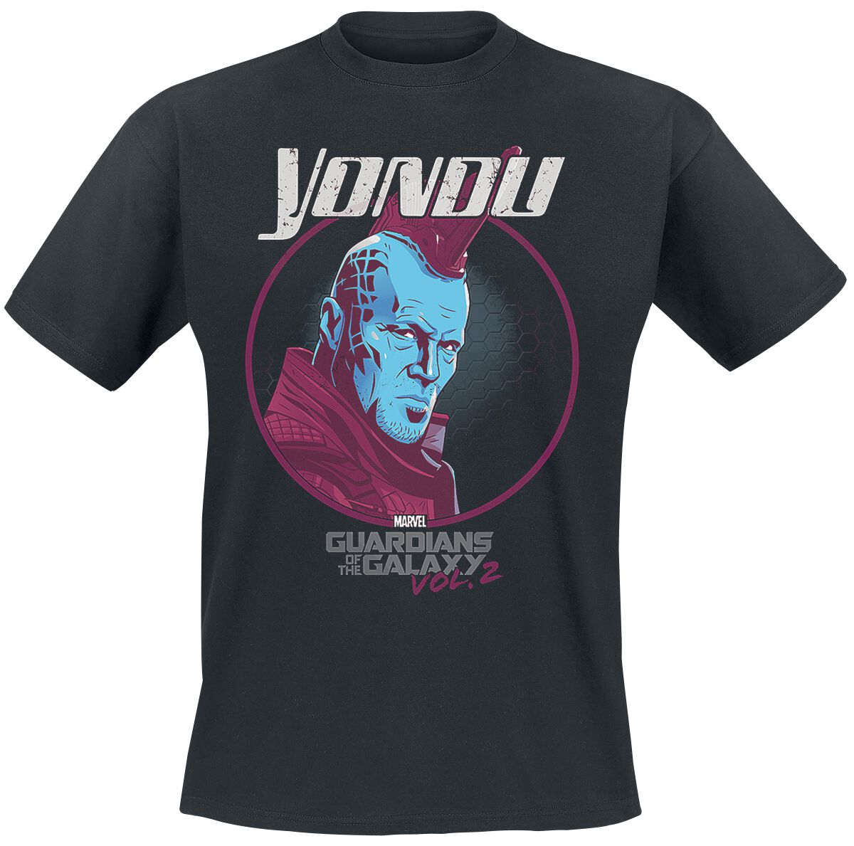 Image of   Guardians Of The Galaxy Vol. 2 - Yondu T-Shirt sort