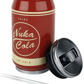 Fallout Nuka Cola - Trinkdose aus Metall Bouteille multicolore