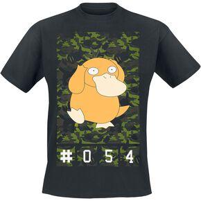 Pokémon Psykokwak T-shirt noir