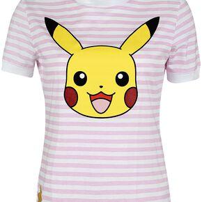 Pokémon Pikachu T-shirt Femme multicolore