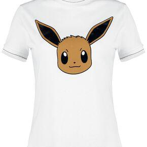 Pokémon Évoli T-shirt Femme blanc