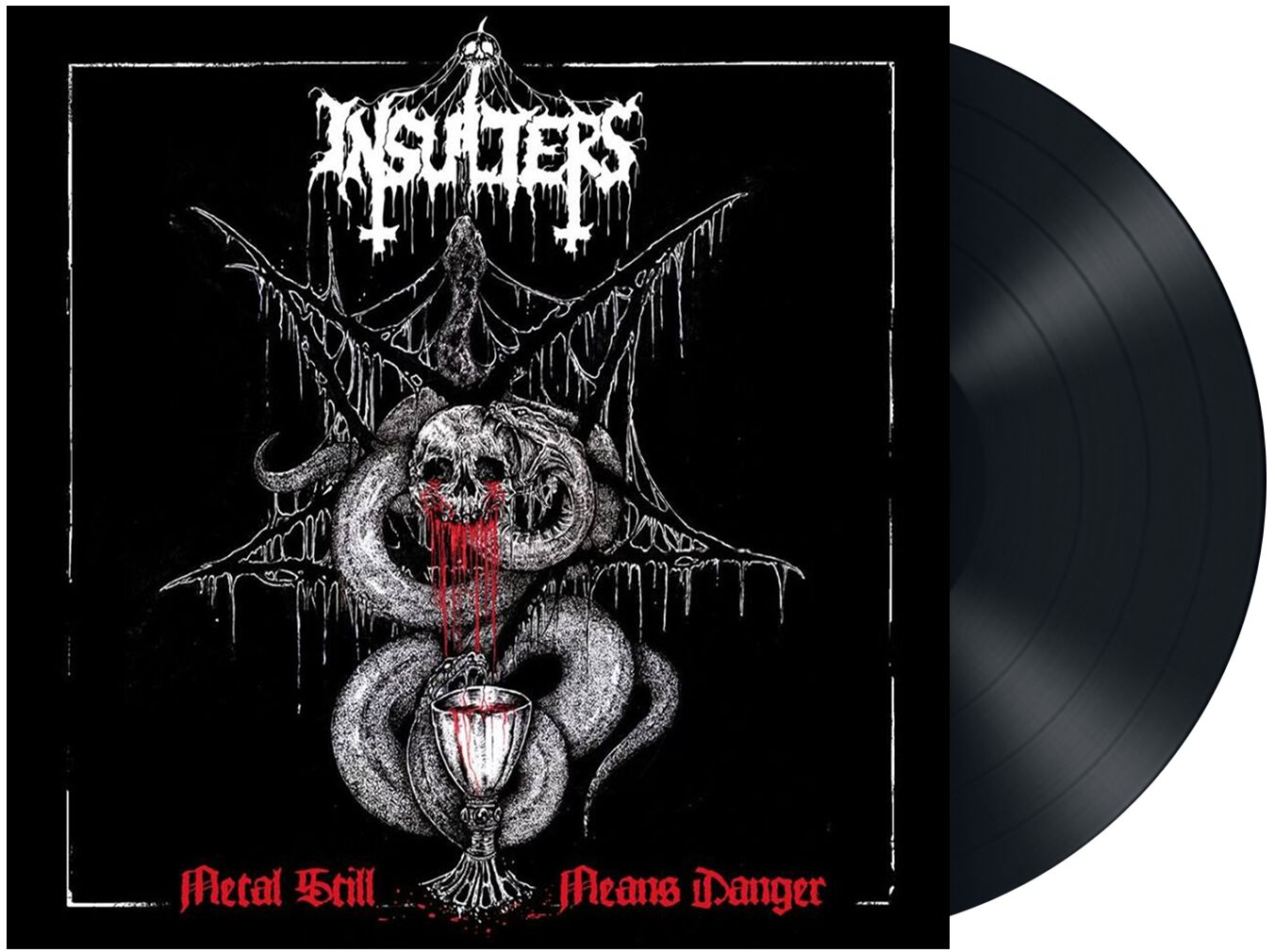 Image of   Insulters Metal still means danger LP Standard