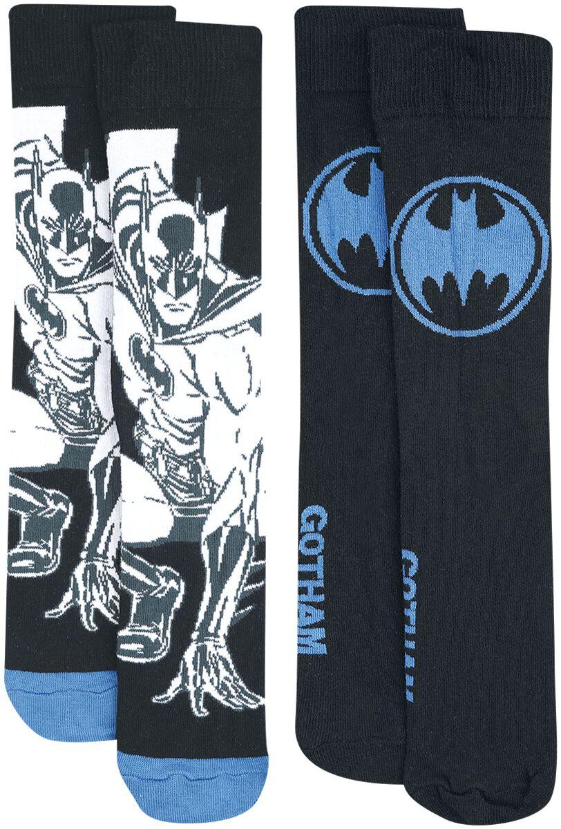 Image of   Batman Batman Logo Sokker multifarvet