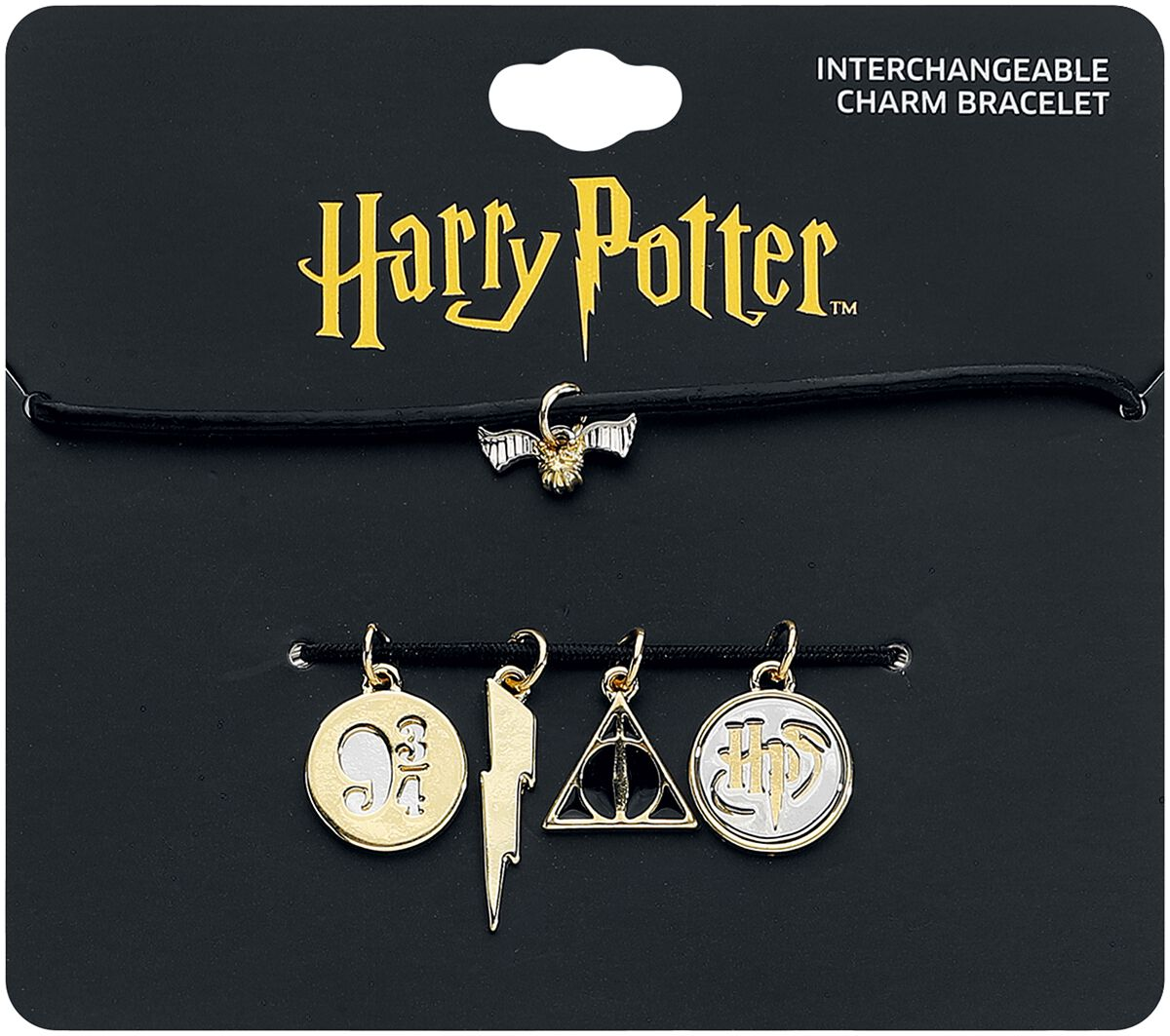 Image of   Harry Potter Charm Armband Armbånd sort