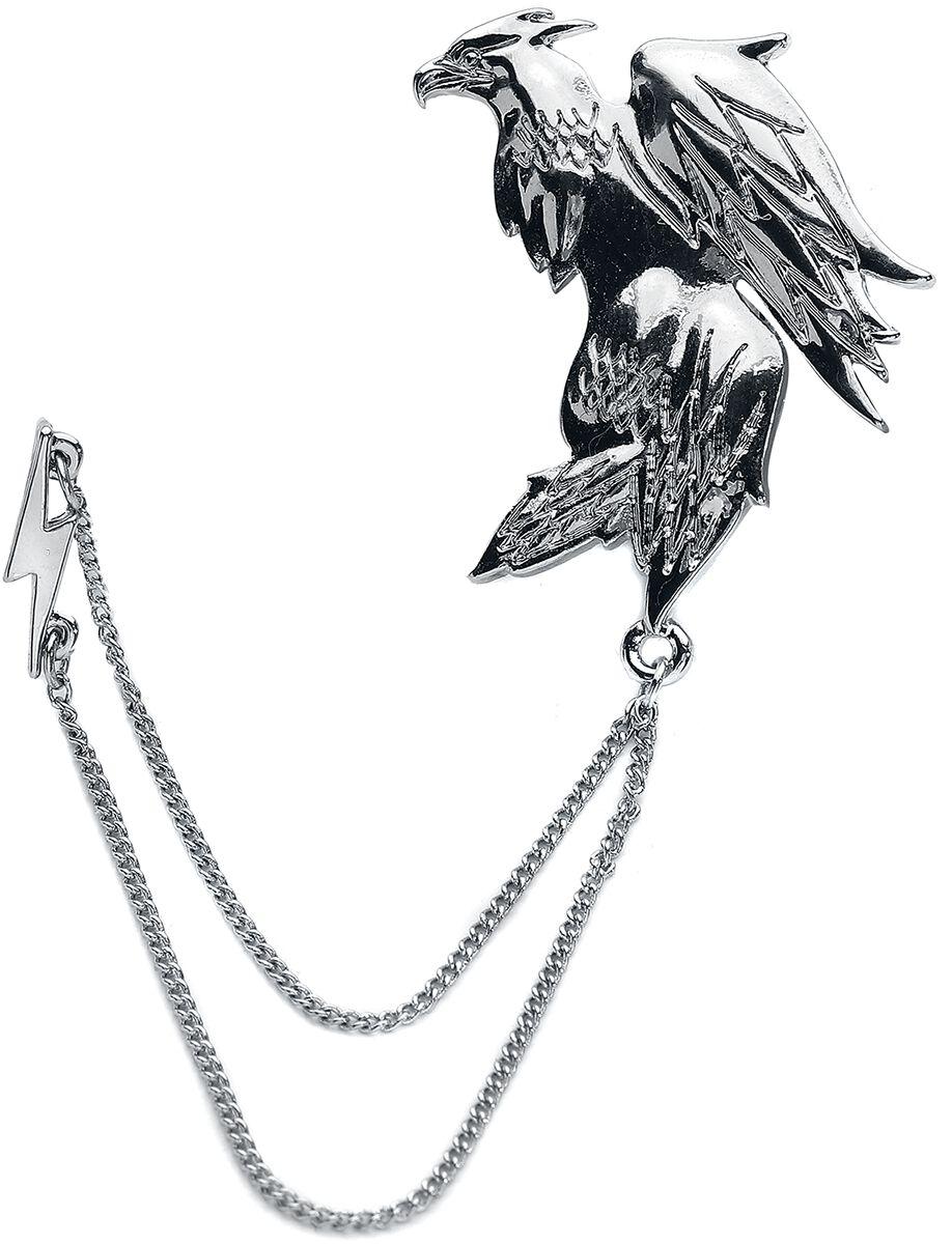 Image of   Fantastic Beasts Grindelwalds Verbrechen - Frank Ear Cuff Ørestik sæt sølvfarvet