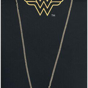 Wonder Woman I Am Wonder Woman Collier couleur or