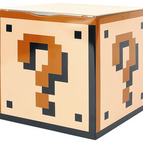 Super Mario Question Block Article décoratif Standard