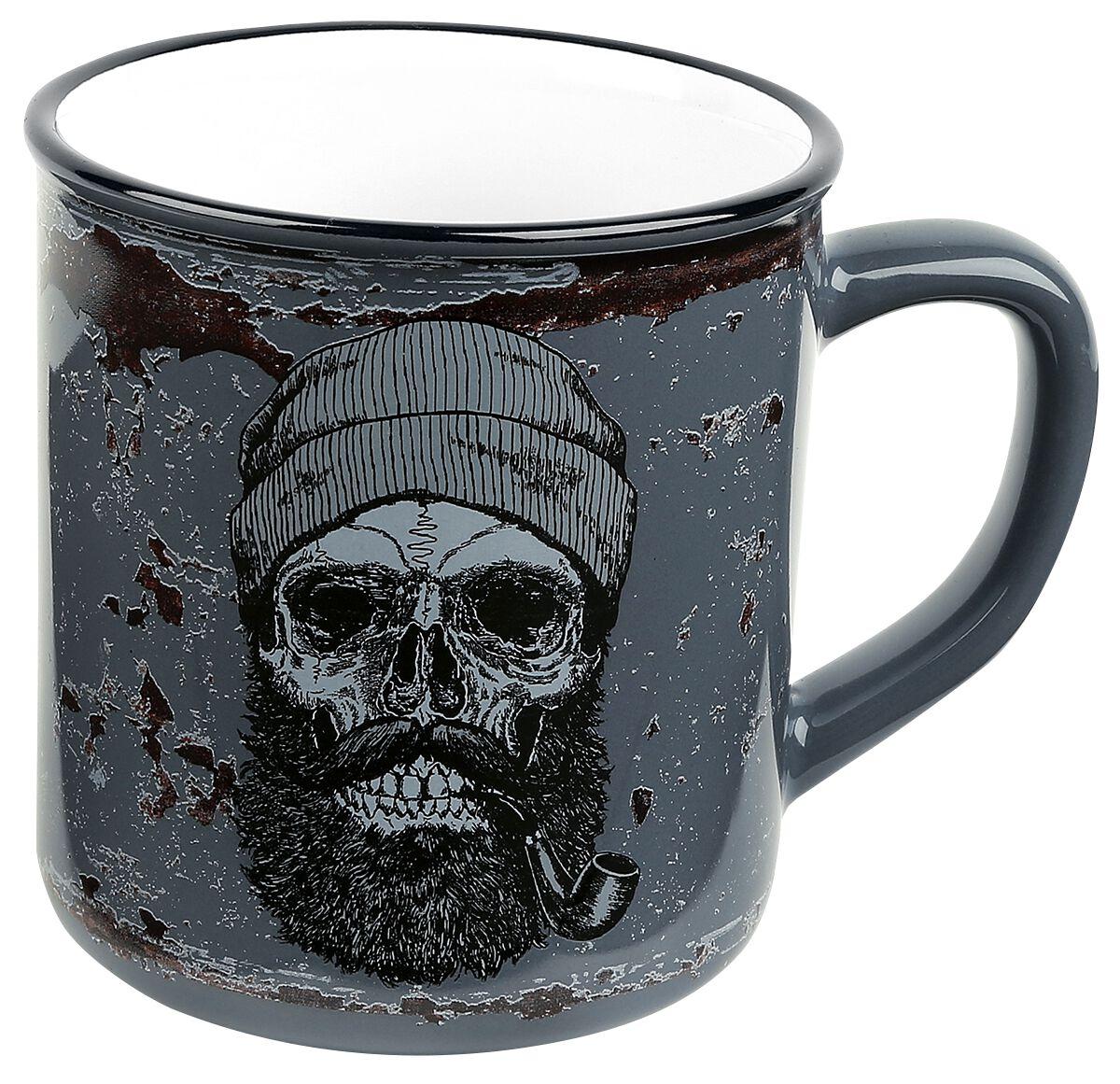 Image of   Skull Sailor Skull Krus multifarvet