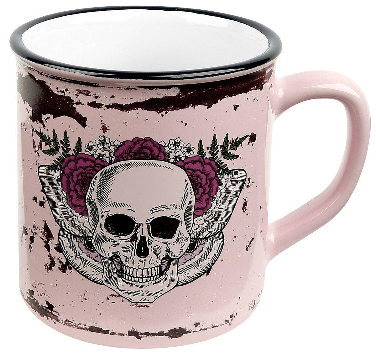 Image of   Skull Lady Skull Krus multifarvet