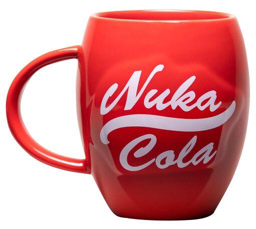 Nuka Cola Tasse rot/weiß