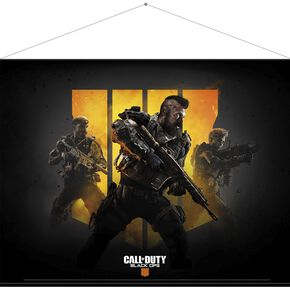 Call of Duty - Black Ops 4 Keyart - Wallscroll Drapeau multicolore
