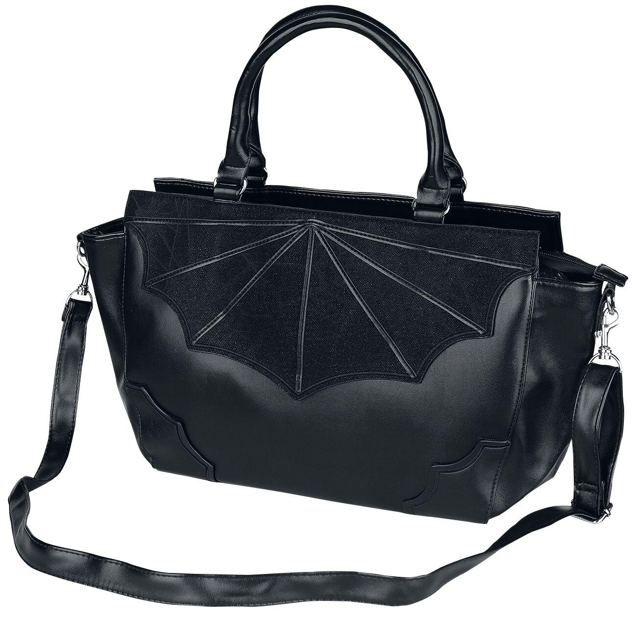 Image of   Banned Alternative Black Widow Håndtaske sort