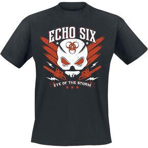 Resident Evil Echo Six T-shirt noir