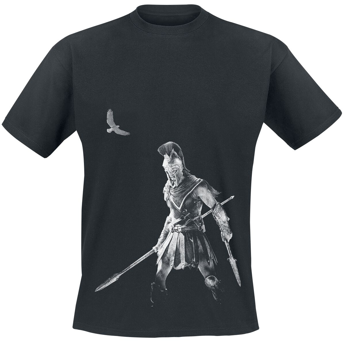 Image of   Assassin's Creed Odyssey - Alexios T-Shirt sort