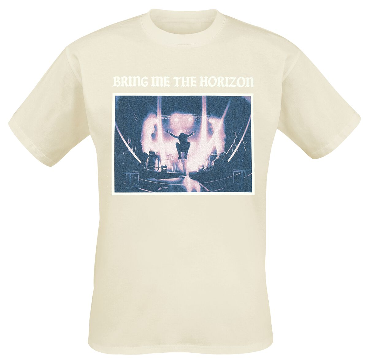 Image of   Bring Me The Horizon Stage Jump T-Shirt organisk natur