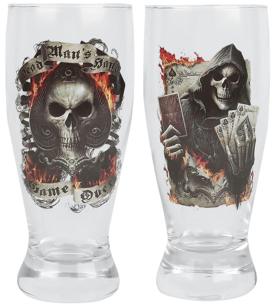 Image of   Spiral Ace Reaper Drikkeglas, sæt gennemsigtig