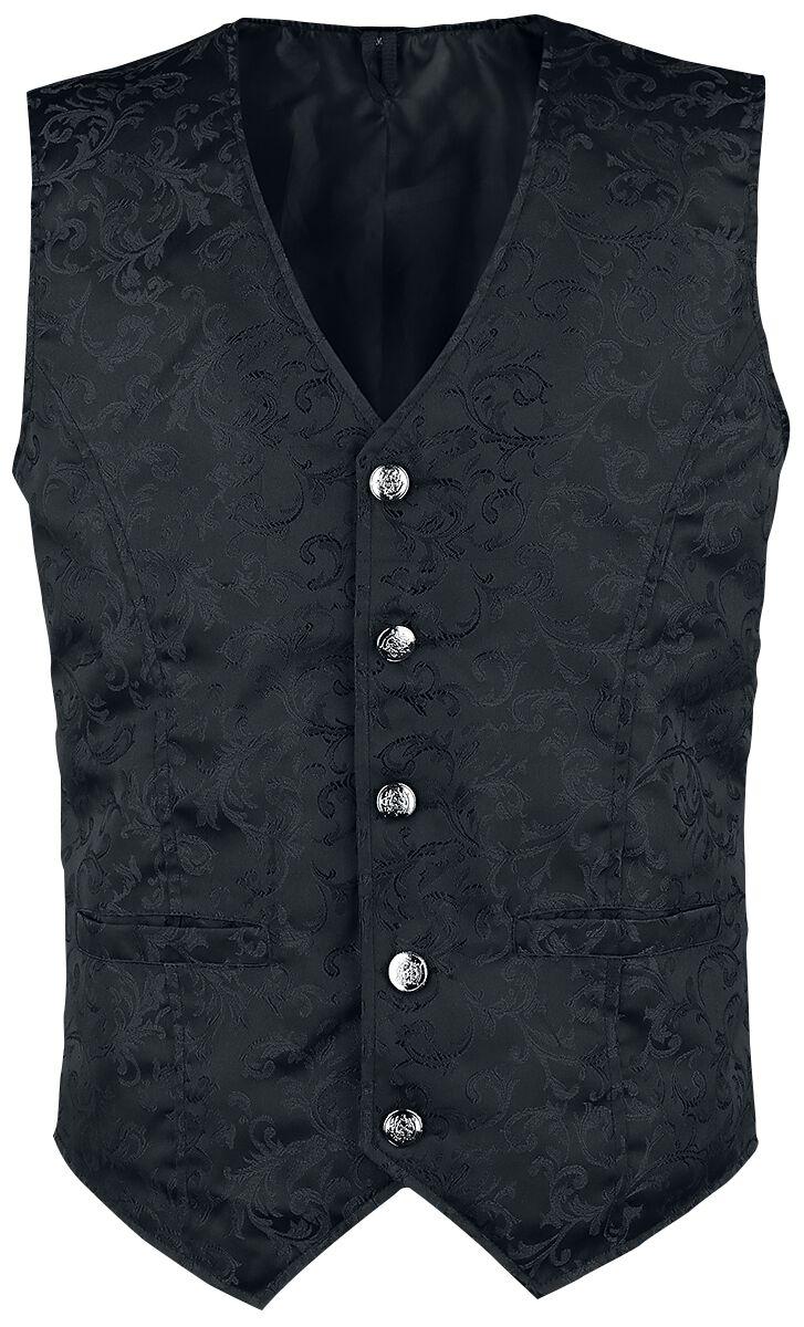 Image of   Altana Industries Brocade Vest Vest sort