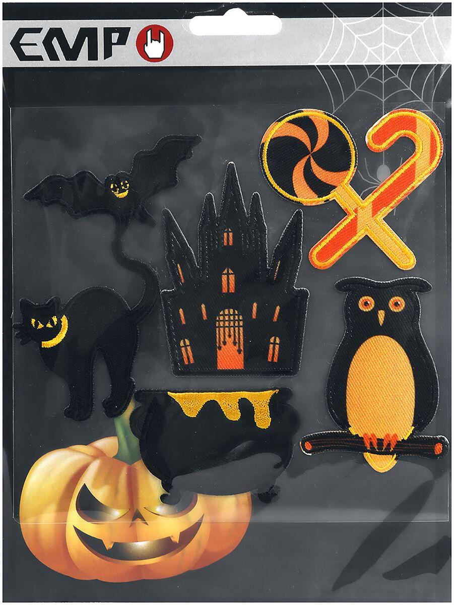 Image of   Halloween Patchsæt Patch multifarvet
