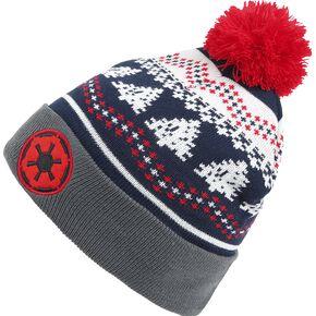 Star Wars Imperial Logo Bonnet bleu marine/gris