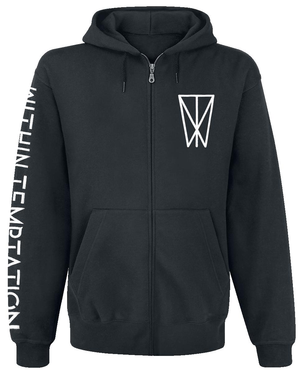 Within Temptation - Resist - Hooded zip - black image
