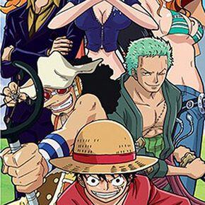One Piece Luffy's Crew Poster de porte multicolore