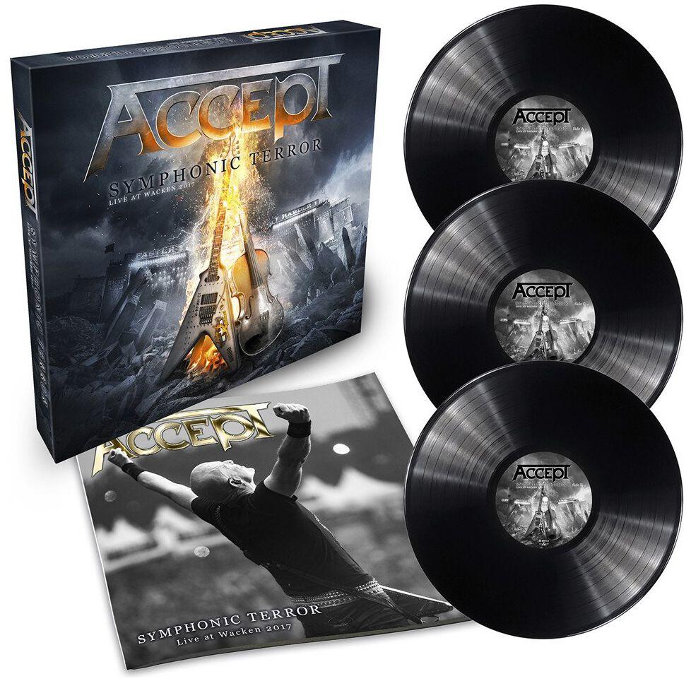 Image of   Accept Symphonic terror - Live at Wacken 2017 3-LP standard