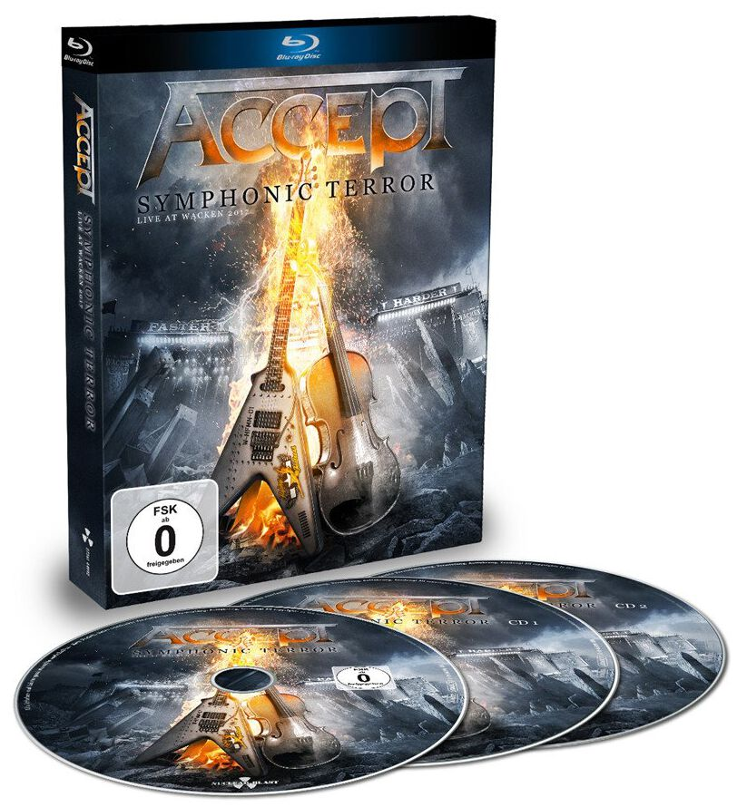 Image of   Accept Symphonic terror - Live at Wacken 2017 2-CD & Blu-ray standard
