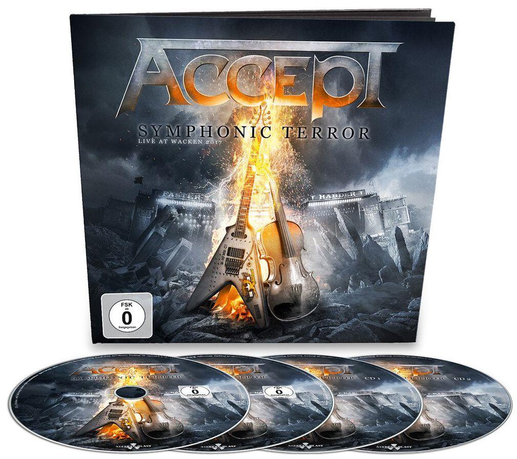 Image of   Accept Symphonic terror - Live at Wacken 2017 2-CD & DVD & Blu-ray standard