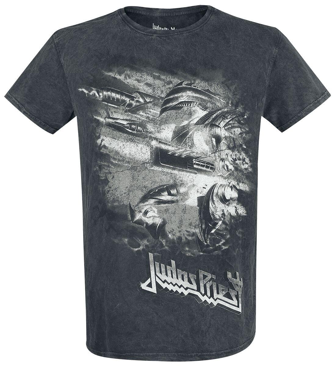 Image of   Judas Priest Firepower T-Shirt mørk grå